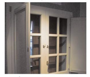 finestra in pvc